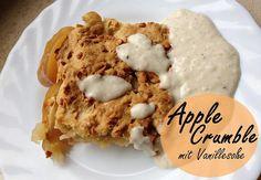 Eat Care Live - Vegane Rezepte & Blog | Lythebeee | Applecrumble mit Vanillesoße