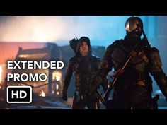 "DC's Legends of Tomorrow 1x06 Extended Promo ""Star City 2046"" (HD) - YouTube"