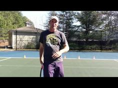 Tennis Footwork Drills: Forehands and Backhands - YouTube