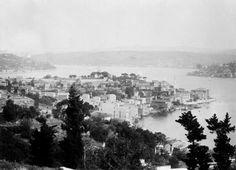 İrlandalı fotoğrafçı tarafından 1851 yılında çekilen İstanbul'un ilk fotoğrafları. Tarabya koyu.1888.