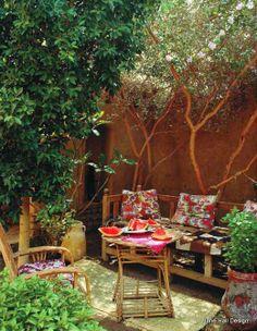 Rustic Style Terrace