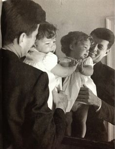 Lovely Daddy & Me Moment... President Kennedy and Caroline