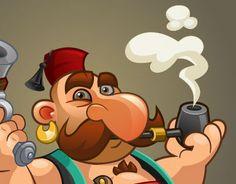 "Check out new work on my @Behance portfolio: ""Turkish pirates"" http://on.be.net/1JsIfzE"