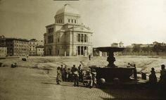 La sinagoga appena costruita 1906 Ph. @TrastevereRM