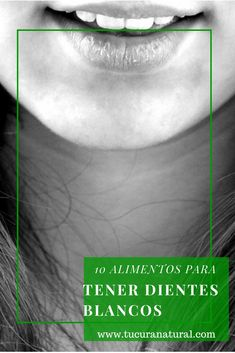Todos sabemos que para cuidar los dientes hay que cepillarlos, usar hilo dental y asistir al dentista periódicamente, pero ¿sabías que también hay alimentos que te ayudan a tener dientes blancos y hermosos? Estos alimentos neutralizan los ácidos, proporci0nan minerales y vitaminas para reparar el esmalte dental y estimulan la saliva. Incluye los siguientes alimentos …