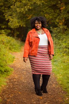 Plus Size Fashion - French Curves : comment porter le suède cet hiver ? | The curvy and curly closet, blog mode ronde, fatshion, plus size