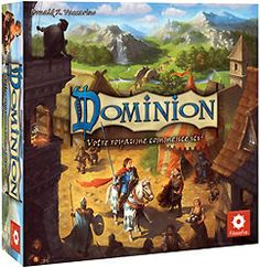 Dominion - love it! Only have the basic game so far, 'hinterlands' and 'cornucopia' - no other extensions yet