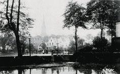 1900 De Slotlaan in de richting van de Oostzeedijk