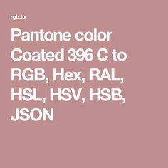pantone color coated 396 c to rgb hex ral hsl hsv
