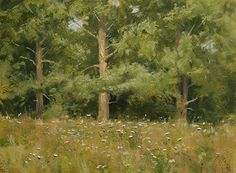 Pine Stand by Paul Bachem Oil ~ 9 x 12