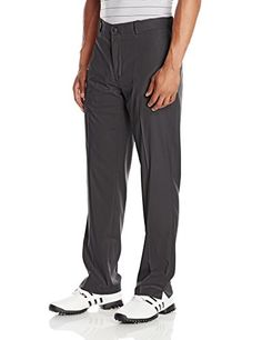 Louis Raphael Men's Golf Flat Front Performance Stretch and Wicking Golf Pant, Ebony, 34x32 -- Find out more about the great product at the image link.