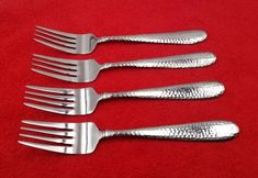 Stainless Steel Flatware, Stainless Steel Types, Forks, Logan, Napkin Rings, Salad, Tableware, Pictures, Pattern