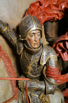 Fragment of a statue of Saint George from the Artus Court in Gdańsk by Hans Brandt, ca. 1485, Muzeum Gdańska