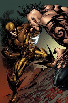 Wolverine vs. Daken