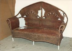 We have spent over 25 years passionately buying, selling, and collecting antique wicker furniture and we would like to share our knowledge for wicker through this frequently changing column. There is a world of difference between old, handmade wicker furniture, and the new wicker being offered on the market today. We hope to give the reader insight into the wonderful qualities of antique wicker furniture, through this column, which will explore the history and attribues of vintage American…