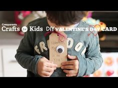 'My Eye On You' Valentine's Day Cards | Crafts for Kids | PBS Parents