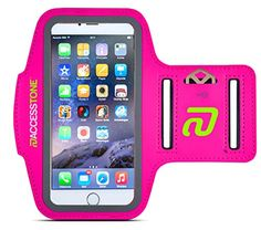 """AccessTone™ iPhone 6 Armband for Running, Biking & Fitness. Durable Sweat-resistant Sports Armband + Key Holder & Touch-sensitive Cover, for Apple iPhone 6 & 6s (4.7""""). Free Replacement Warranty Access Tone http://www.amazon.com/dp/B00P5DJ4JA/ref=cm_sw_r_pi_dp_8XFawb08A17BF"""