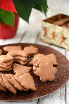 Pierniczki bezglutenowe Come Dine With Me, Gluten Free Recipes, Gingerbread Cookies, Dairy Free, Sweet Tooth, Deserts, Food And Drink, Cooking Recipes, Sweets