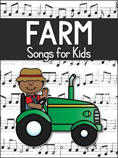 Farm Songs for Kids in Preschool, Pre-K, Kindergarten - PreKinders