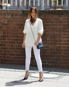 d6655c6e1a51 25 Head-to-Toe White Outfits to Try Now