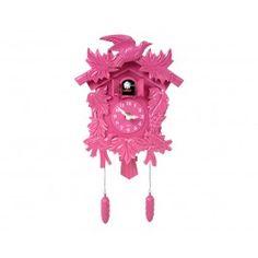 Pink Cuckoo Clock, $39.95