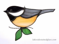 Staines Glass Chickadee Pattern - Yahoo Image Search Results