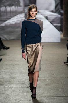 Défile Nonoo prêt-à-porter automne-hiver 2014-2015, New York #NYFW #Fashionweek