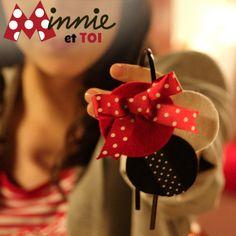 Minnie et Toi : Serre-tête exclusif, customisé à souhait