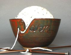 Yarn Bowl:  How did i not know these existed!?!?!? Need one!
