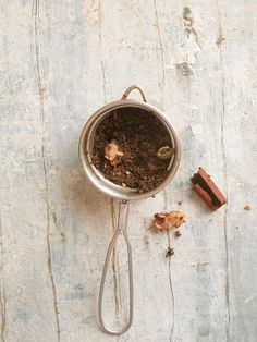 masala chai...chai can be a great way to get some beneficial herbs & spices, like ginger & clove!