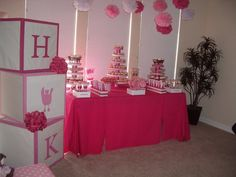 Girl Baby Shower Decorations For Tables - Baby Shower Decoration ...