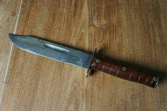 Grandpa's indonesian handmade fighting knife