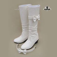 1/3 BJD Boots SD13 Dollfie DREAM EID MID SOOM AOD DOD DZ white Boots shoes 0128 #Unbranded #BJDSHOES