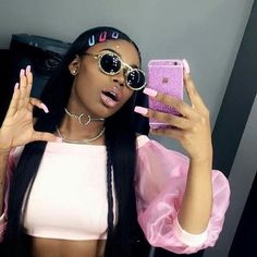"""Check out our web site for additional information on """"bratz dolls"""". It is an exceptional place for more information. Black Girl Magic, Black Girls, Black Women, Sunglasses For Your Face Shape, Chica Cool, Ray Bans, Bad And Boujee, Asian Doll, Grunge Hair"""