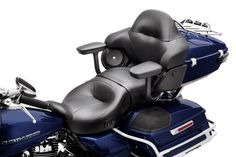 If your passenger is happy, you'll be happy! | Harley-Davidson Tour-Pak Passenger Armrests