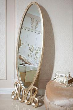Gold Mirror Modrest Ravenna Collection