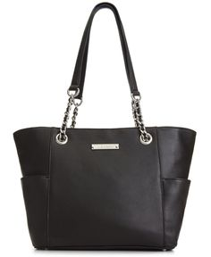1b05d8e439f Calvin Klein Pebble Leather Tote & Reviews - Handbags & Accessories - Macy's