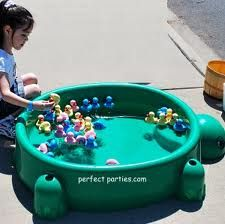 kids carnival games - This would be cute and easy to set up and take down :)