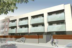 AVMA Building. Residential Terrassa. Barcelona (Spain) QIDStudio. Artur Fuster Architects