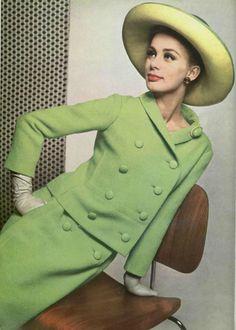 1962 Dior www.vintageclothin.com