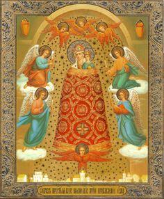 """Theotokos """"Giver of Wisdom"""" Icon"""