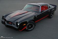 1981 Camaro; I want one of these, SO BAD. I love my 3rd Gen Camaro, but this girl here is a BEAUTIFUL piece of work. <3 Would never replace my Juliet, though...