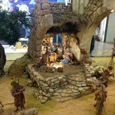 Christmas Nativity Scene, Emilio, Cribs, Lion Sculpture, Statue, Art, Christmas Manger, Births, Waterfalls