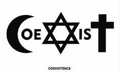 Coexist by Piotr Mlodozeniec - Coexist (image) - Wikipedia