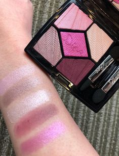 Dior Spring 2018 Makeup Collection Swatches