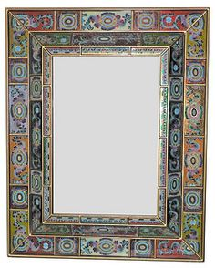Double Angular Wall Mirror, Quilt on shopstyle.com