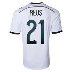 Germany 2014 REUS Home Soccer Jersey