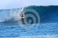 surfing the Perfect Barrel - Download From Over 26 Million High Quality Stock Photos, Images, Vectors. Sign up for FREE today. Image: 44341639