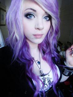 Purple hair