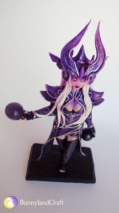 League of Legends' Syndra inspired figure - by BunnyLandCraft ★ Follow me on FB: www.facebook.com/BunnylandCraft ★